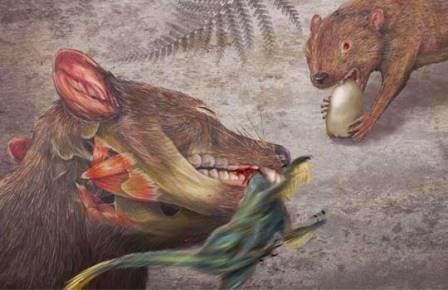 Ранние сумчатые Didelphodon