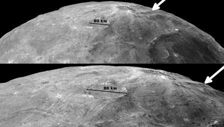 Трещины на поверхности Харона, указывающие на существование океана