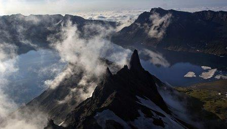 Пик горы Пэктусан