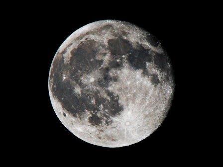 Луна © NASA