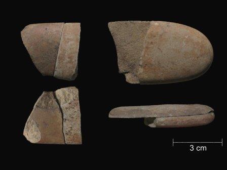 Уже 12 тысяч лет назад возник обычай ритуально ломать предметы