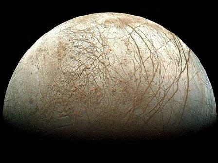 Европа, спутник Юпитера