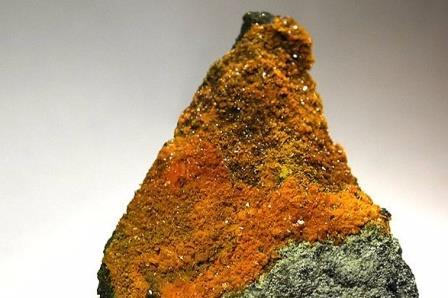 Паскоит – минерал, кристаллизующийся на стенах горных выработок