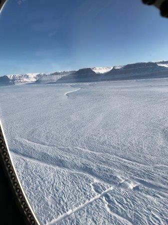NASA показало фото трещины в одном из крупнейших ледников Гренландии