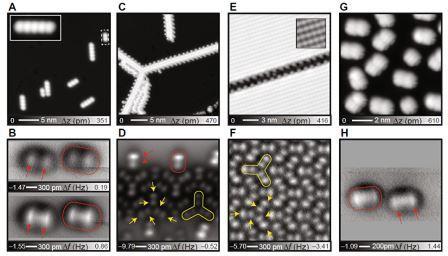 Фотографии водородных связей в молекулах