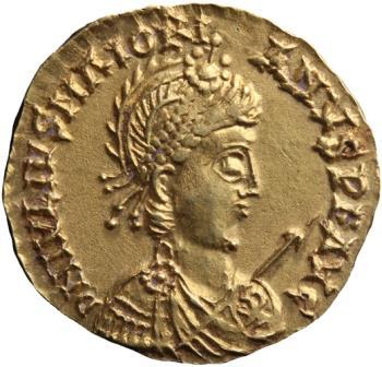 Золотой солид императора Майориана