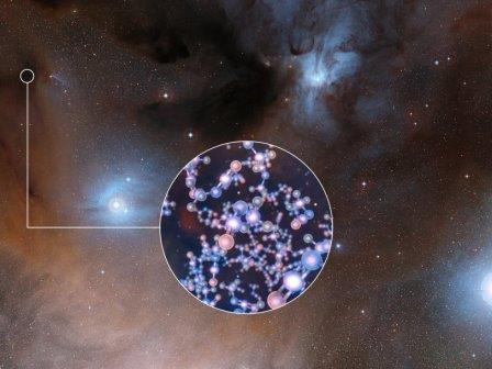 Ингредиенты для жизни вблизи молодых звезд