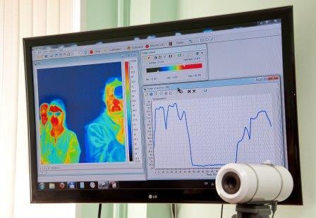 Тепловизор, созданный в ИФП СО РАН