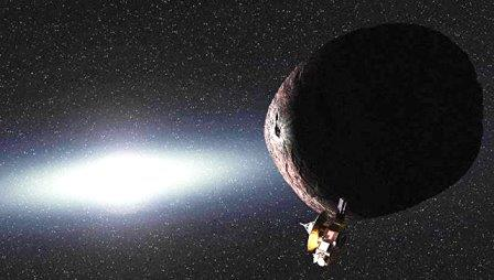 Космический объект в поясе Койпера под названием 2014 MU69