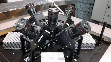 Пять камер установки MASCARA