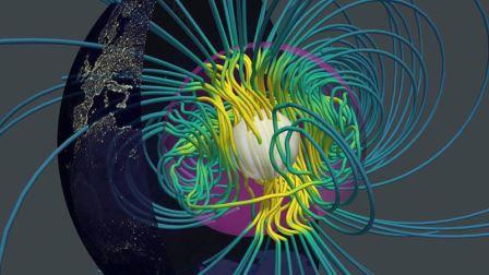 Ученые составили математическую модель, описывающую процесс формирования магнитного поля Земли