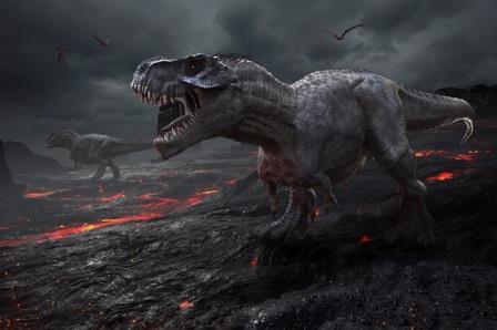 Динозавры вымирали во мраке
