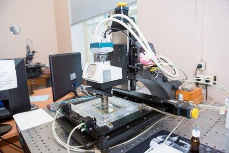 Туннельный микроскоп для анализа мюонных треков