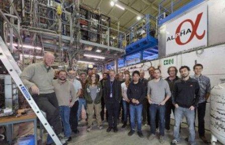 Команда ALPHA на объекте ALPHA, CERN