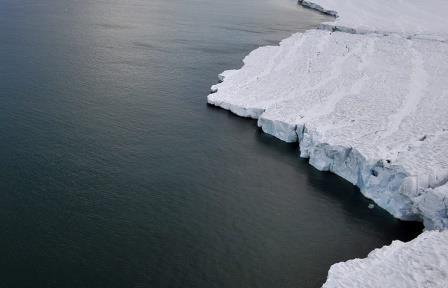 Мерзлота на границе моря Лаптевых деградирует со скоростью почти 1 м в год