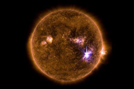 Вспышка на Солнце, произошедшая 6 сентября 2017 года