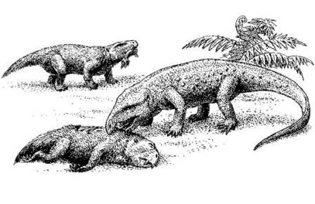 Реконструкция вязниковской фауны
