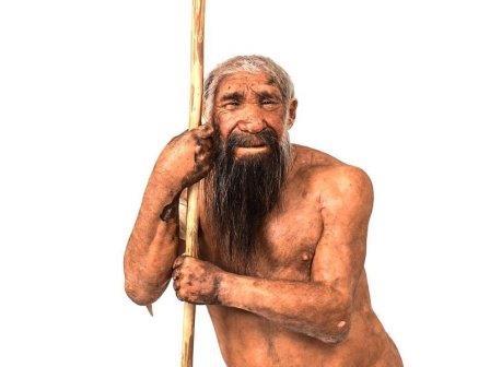 Неандерталец (реконструкция из Музея науки в Тренто, Италия)