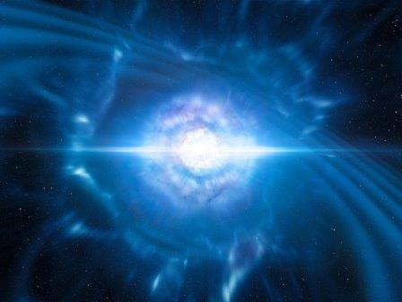 Слияние нейтронных звезд. Взгляд художника