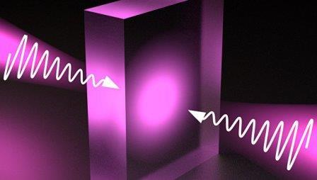 Так художник представил себе прозрачный материал, поглощающий свет