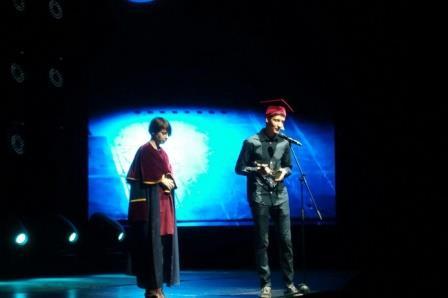 Дарья Варламова и Антон Зайниев, лауреаты премии «Просветитель»