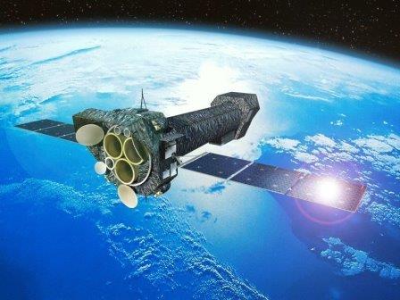 Телескоп XMM-Newton на орбите