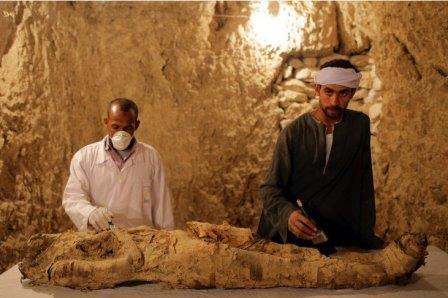 В Египте нашли две гробницы времен XVIII династии