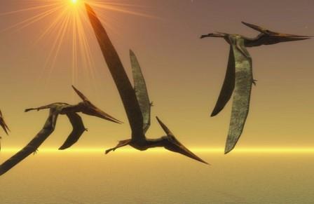 Птерозавры гнездились группами и заботились о детенышах