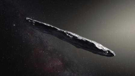 Астероид Оумуамуа © NASA