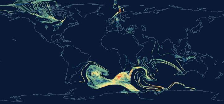 Создана уникальная онлайн-карта ветров
