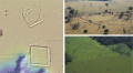 """Останки поселений, найденных археологами в """"безлюдных"""" лесах Амазонии © University of Exeter"""
