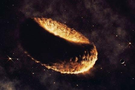 Луна сформировалась из газового «пончика»