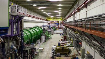 Эксперимент NA62 в ЦЕРНе © NA62C/CERN