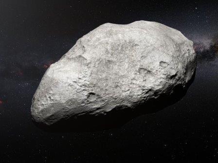 Астероид 2004 EW9 © ESO/M. Kornmesser