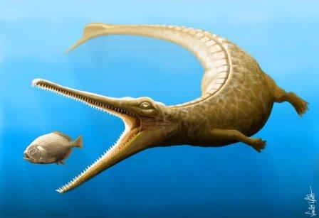 Magyarosuchus fitosi © Marton Szab