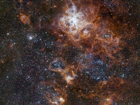 Туманность Тарантул © ESO