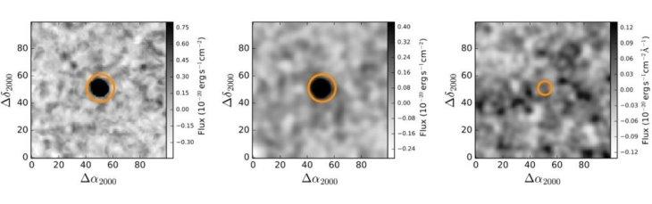Темные галактики излучают крайне мало видимого света © Marino et al., The Astrophysical Journal
