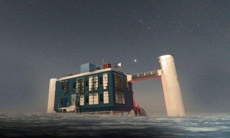 Обсерватория «Ледяной куб» ©IceCube/NSF