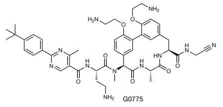 Химическая структура G0775 ©Nature