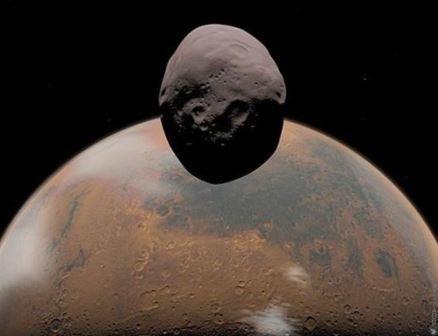 Фобос и Марс
