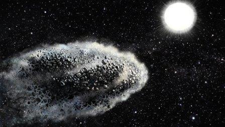 Облако пыли на орбите © Lauri Voutilainen