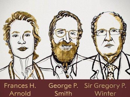 Лауреаты Нобелевской премии по химии 2018 Niklas Elmehed © Nobel Media