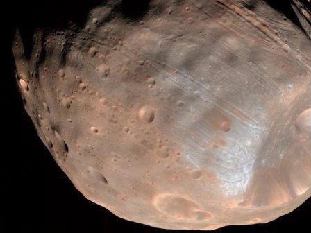 Фобос © NASA/JPL-Caltech/University of Arizona
