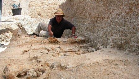 Мохамед Сахнуни проводит раскопки на северо-востоке Алжира © M.Sahnouni