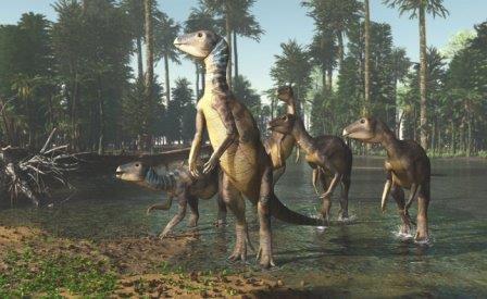 Weewarrasaurus pobeni © James Kuether/University ofNew England