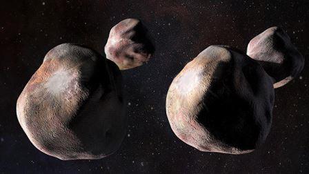 Так может выглядеть Ультима Туле, предтеча Плутона © NASA