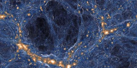 Паутина Вселенной © TNG Collaboration