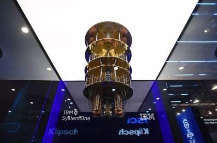 IBM представила квантовый компьютер на выставке в Лас-Вегасе ©IBM