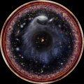 Космологический горизонт в представлении художника. В результате распада вакуума Вселенная, какой мы ее знаем, может прекратить свое существование © Pablo Carlos Budassi/Wikimedia Commons