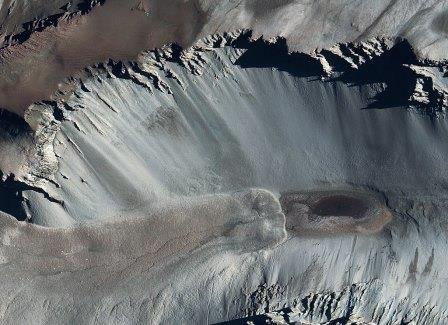 Озеро Дон Жуан, Антарктида© NASA/Goddard Space Flight Center Scientific Visualization Studio